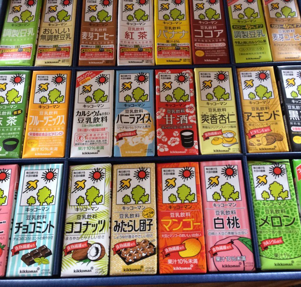 【ギフト】キッコーマン豆乳詰め合わせの贈り物が喜ばれた