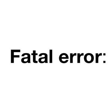 【WordPress】プラグイン更新後にFatal errorが出てログイン出来ない時の対処方法
