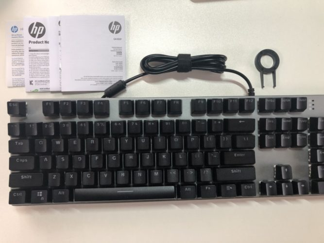 ゲーミングキーボード『GK400F』レビュー使用感